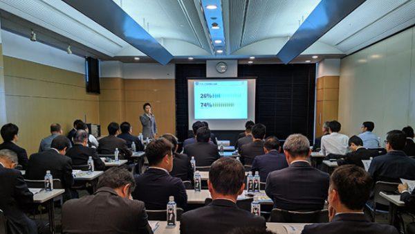 弊社代表松田が福岡で「戦力としての外国人人材の採用セミナー」に登壇しました