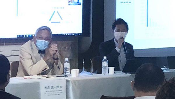 【日本外国人材協会】イベントで米倉誠一郎氏と弊社代表が対談